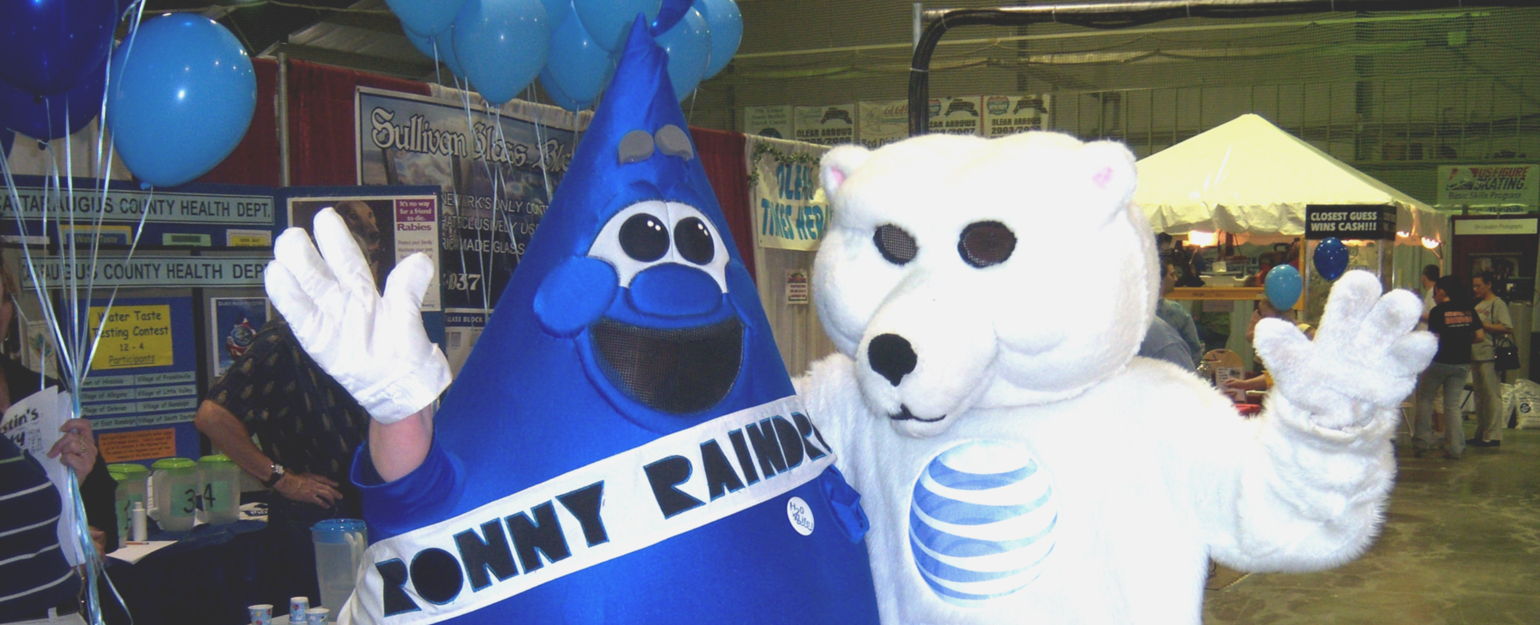 Ronny Raindrop and Friend